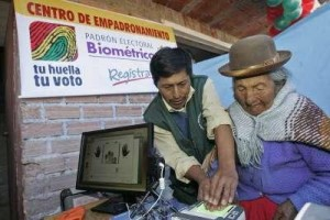 Biometric registry in Bolivia with Smartmatic