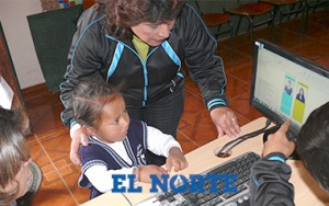 Children in Ecuador test out electronic voting